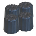 Lot de 4 moules à cannelés diam 5,5 - De Buyer