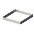 De Buyer - Cercle carré perforé inox L 15cm HT 2 cm
