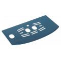 Plaque métallique pour plateau avec isolant