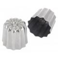 DE BUYER - mini cannelé bordelais inox 3,5 cm