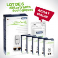 Kit de 6 détartrants 100 ml pour machine à café Delonghi