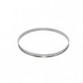 De Buyer. cercle à tarte inox HT 2 cmbd roule 10