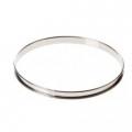 Se Buyer. Cercle à tarte inox HT 2cmbd  roule 20