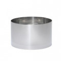 De Buyer. Cercle rond pain surprise inox diam20 HT12cm