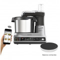 Robot kCook MULTI SMART CCL455SI - Connecté, balance, 180 °