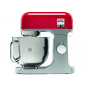 Robot  kMix KMIX850RD1000W Bol inox 5L rouge + AT850