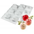 Silikomart Moule 6 Roses Flexi